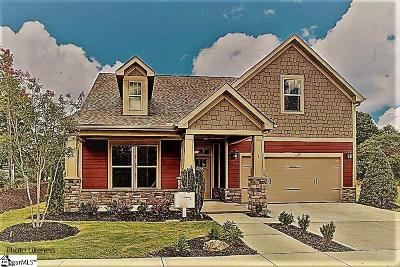Simpsonville Single Family Home For Sale: 2 Rosecrest