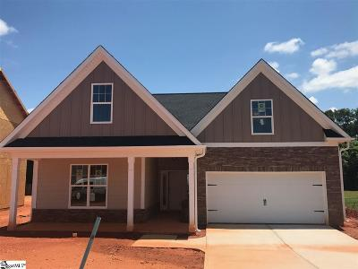 Simpsonville Single Family Home For Sale: 15 Fowler Oaks #Lot 68