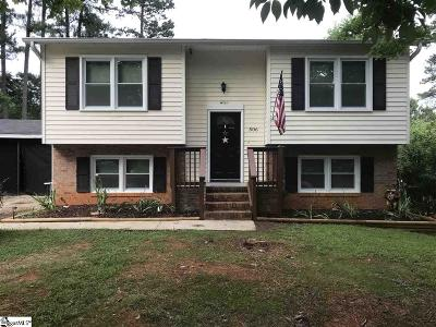 Simpsonville Single Family Home For Sale: 506 Sellwood
