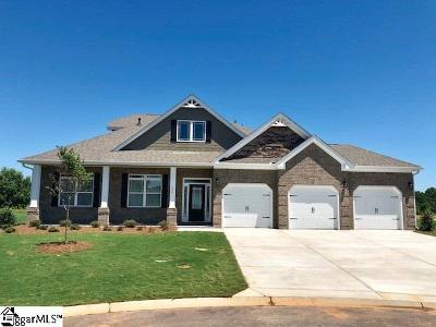 Simpsonville Single Family Home For Sale: 206 Birchdale
