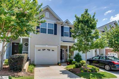 Simpsonville Condo/Townhouse For Sale: 64 Bay Springs