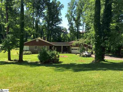 Greenville County Single Family Home For Sale: 39 Crestline
