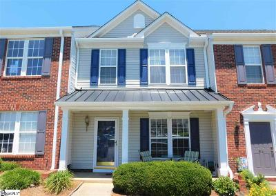 Greer Condo/Townhouse Contingency Contract: 96 Spring Crossing