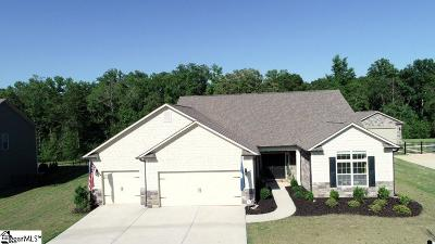 Simpsonville Single Family Home Contingency Contract: 320 Cooper Oaks