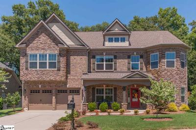 Simpsonville Single Family Home For Sale: 124 Palm Springs
