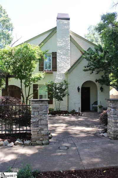 Greenville Single Family Home For Sale: 109 Garraux