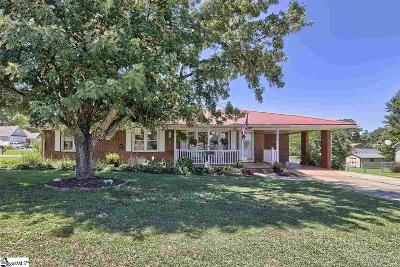 Greer Single Family Home For Sale: 2501 Holiday