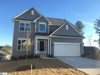 Greenville Single Family Home For Sale: 405 Tonsley #lot 72