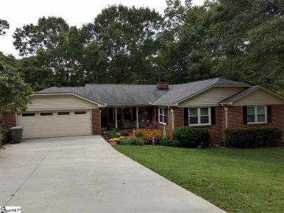 Mauldin Single Family Home For Sale: 125 Brockman
