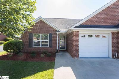 Simpsonville Condo/Townhouse Contingency Contract: 406 Hunting Creek