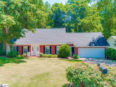 Greer Single Family Home For Sale: 125 Sugar Creek