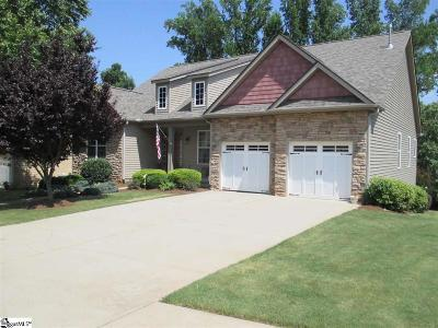 Taylors Single Family Home For Sale: 117 Hidden Springs