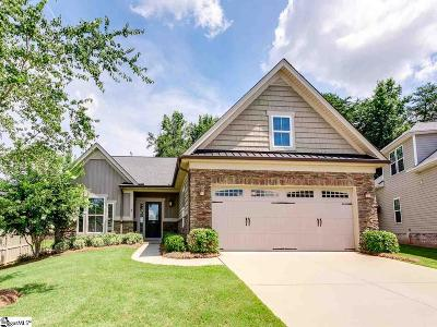 Simpsonville Single Family Home Contingency Contract: 18 Aldershot