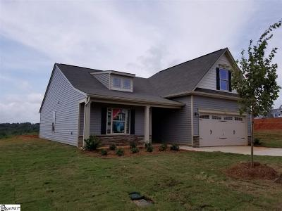 Easley Single Family Home For Sale: 253 Shale #lot 198