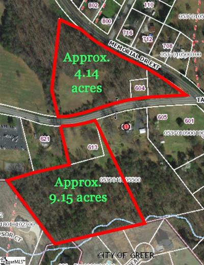 Greer Residential Lots & Land For Sale: 611 Taylor
