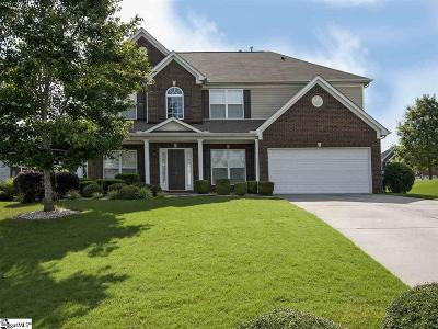 Simpsonville Single Family Home For Sale: 4 Weycroft