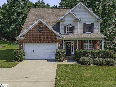 Simpsonville Single Family Home For Sale: 106 Morton