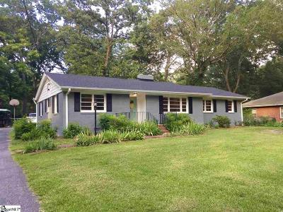 Greenville Single Family Home For Sale: 405 Elizabeth