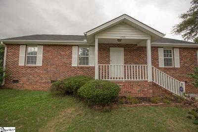 Fountain Inn Single Family Home For Sale: 1203 McKelvey