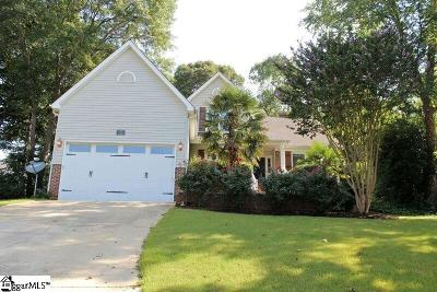 Mauldin Single Family Home Contingency Contract: 7 Seagrass