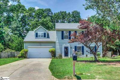 Simpsonville Single Family Home For Sale: 110 Buckhead