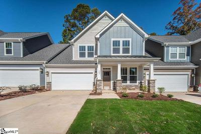 Mauldin Condo/Townhouse For Sale: 501 Overwood #Lot 22