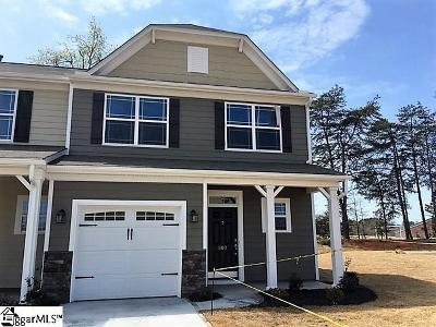 Simpsonville Condo/Townhouse For Sale: 800 Appleby