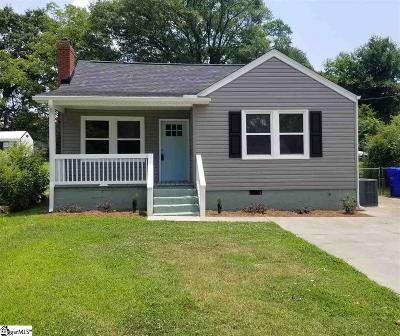 Greenville Single Family Home Contingency Contract: 17 Cumberland