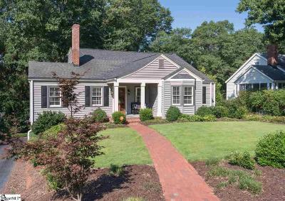 Greenville Single Family Home Contingency Contract: 20 Sunset