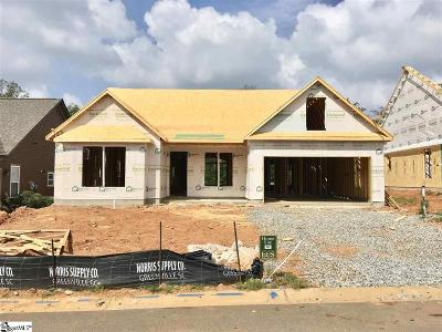 Spartanburg Single Family Home For Sale: 650 Cub Branch #lot 70