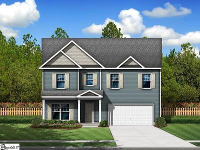 Greer Single Family Home For Sale: 274 Braselton #Lot 4