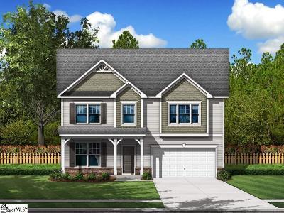 Greer Single Family Home For Sale: 270 Braselton #Lot 5