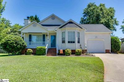 Simpsonville Single Family Home For Sale: 6 Fruitwood