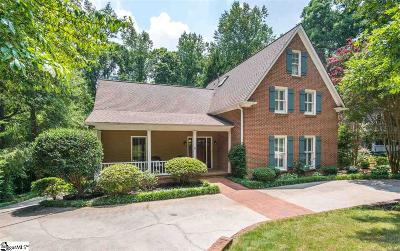 Greenville Single Family Home For Sale: 6 Stone Hollow