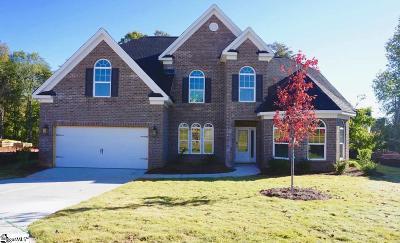 Boiling Springs Single Family Home For Sale: 491 Gorham #Homesite