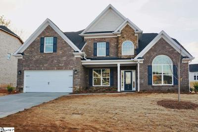 Boiling Springs Single Family Home For Sale: 410 Chippendale #Homesite