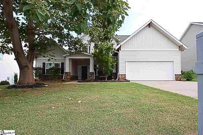 Taylors Single Family Home For Sale: 25 Hurshfield