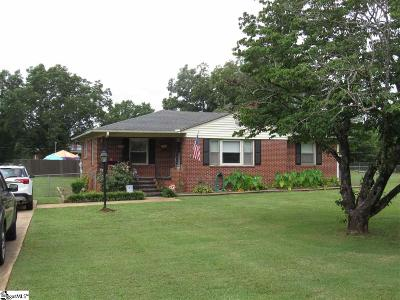 Anderson Single Family Home For Sale: 1002 Bern