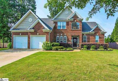 Simpsonville Single Family Home For Sale: 102 Calgary