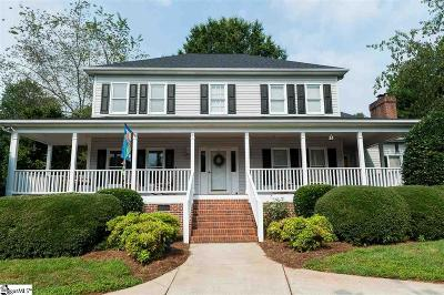 Simpsonville Single Family Home For Sale: 4 Maple Brook