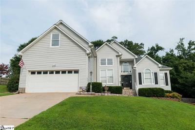 Greer Single Family Home For Sale: 133 Matalin