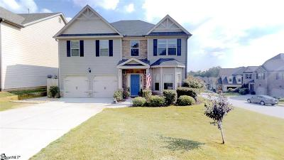Greer Single Family Home For Sale: 372 Harkins Bluff