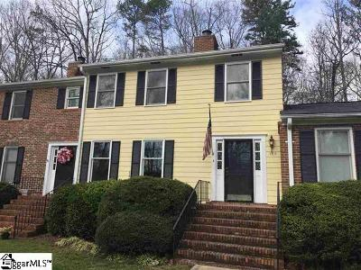 Spartanburg Condo/Townhouse For Sale: 139 Highridge