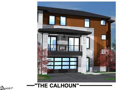 Greenville Condo/Townhouse For Sale: 12 S Calhoun #Unit C