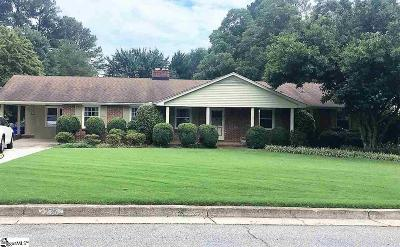 Greenville Single Family Home Contingency Contract: 236 Buckingham