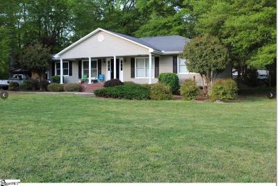 Piedmont Single Family Home For Sale: 1598 Shiloh Church