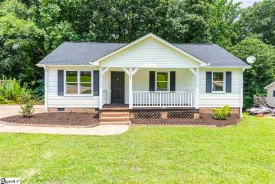 Simpsonville Single Family Home For Sale: 207 Pinonwood