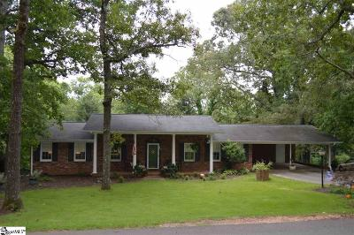 Easley Single Family Home Contingency Contract: 111 Pineview