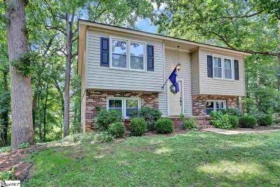 Simpsonville Single Family Home For Sale: 6 Chuckwood