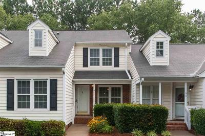 Greenville Condo/Townhouse Contingency Contract: 40 Wood Pointe #67